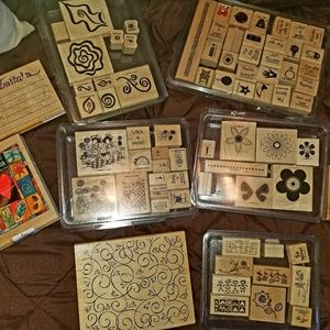 Large Lot of NEW Stampin Up